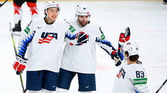 США нанесли Канаде второе поражение на старте чемпионата мира