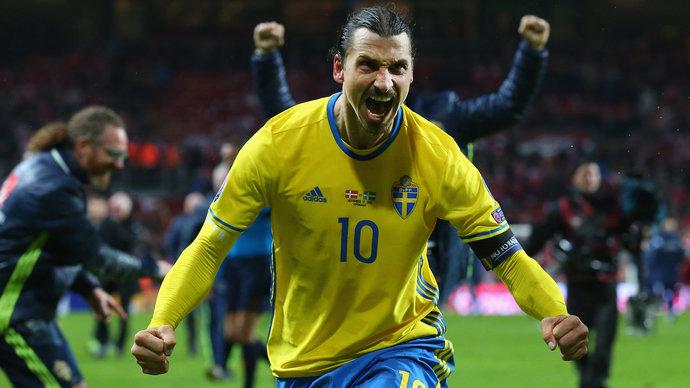 39-летний Ибрагимович вызван в сборную Швеции впервые за пять лет