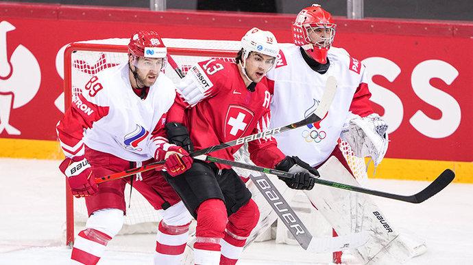 Россия победила Швейцарию на чемпионате мира