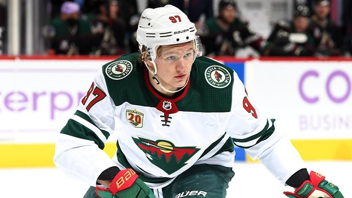 Установивший два рекорда Капризов признан второй звездой дня в НХЛ