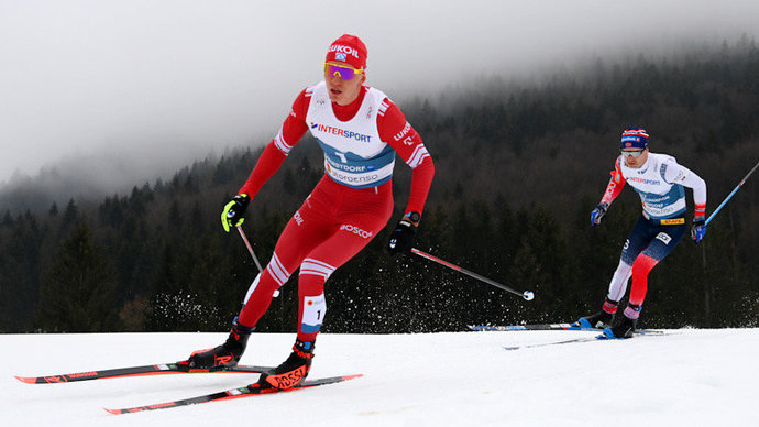 Александр Большунов: «Лыжи немного не сработали. На финише было бессмысленно бороться»