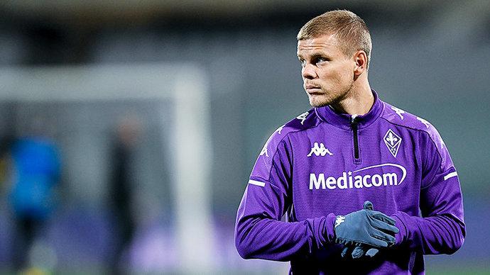 Кокорин попал в заявку «Фиорентины» на матч с «Сампдорией»