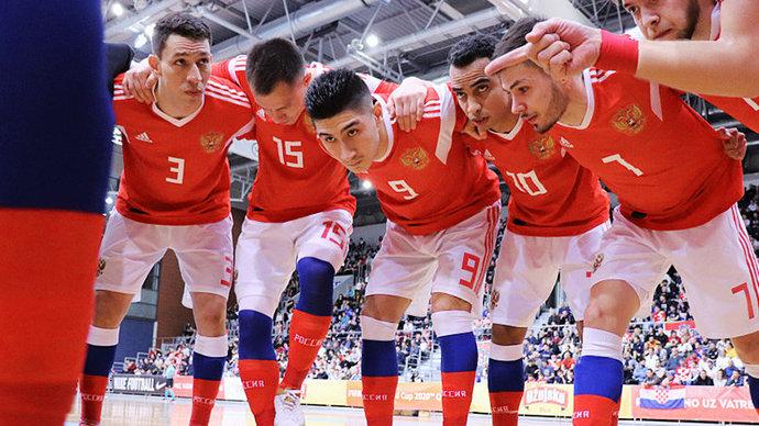 Сборная России по мини-футболу выиграла все матчи в отборе к ЧЕ-2022