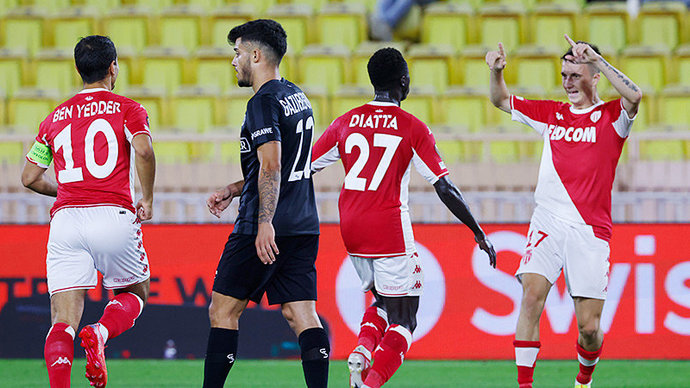 Голевой пас Головина помог «Монако» победить «Штурм» в Лиге Европы