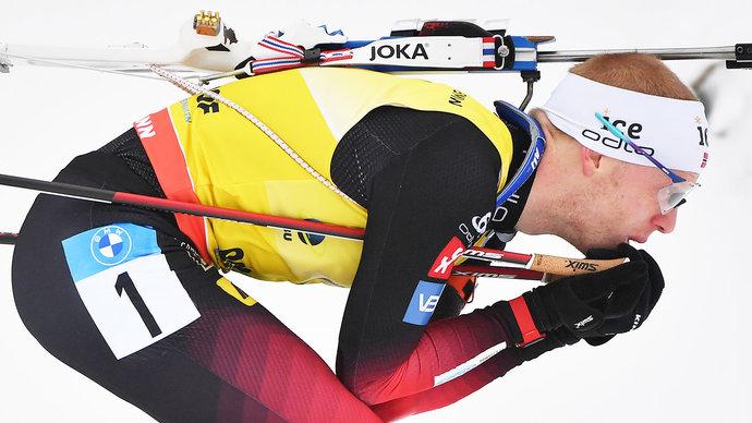 Йоханнес Бе показал лучшую скорость в спринте, Латыпов проиграл норвежцу 40 секунд