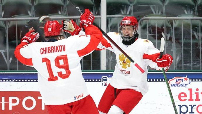 Никита Чибриков — в эфире «Матч ТВ»: «Возможно, эмоции переполнили нас и привели к маленьким ошибкам в финале юниорского чемпионата мира»