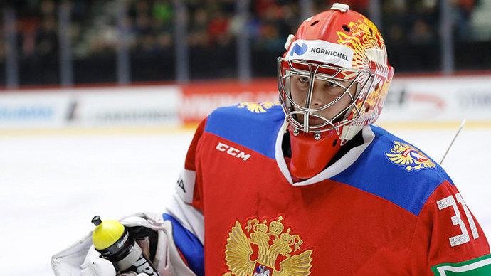 Сборная России назвала состав на матч с Финляндией, вратарь — Самонов