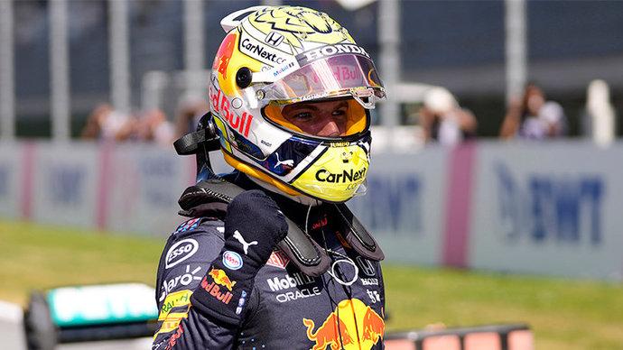 Ферстаппен одержал историческую победу в первом спринте «Формулы-1» и увеличил преимущество над Хэмилтоном