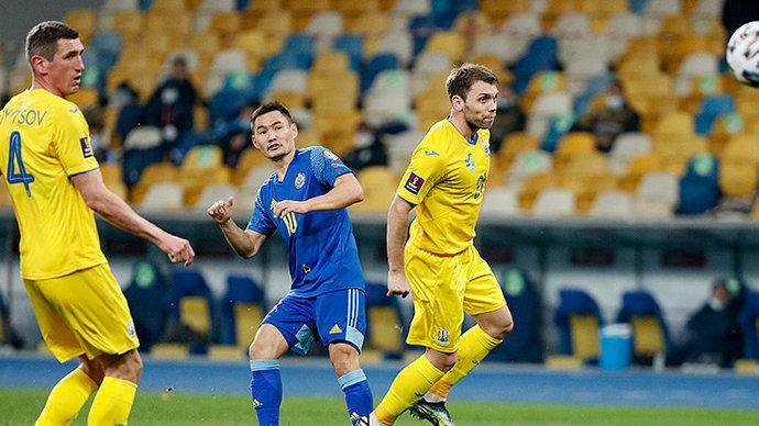 Украина и Казахстан сыграли вничью, Англия обыграла Польшу