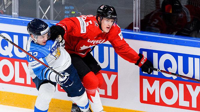 Канада уступила Финляндии по буллитам и лишилась шансов на плей-офф ЧМ