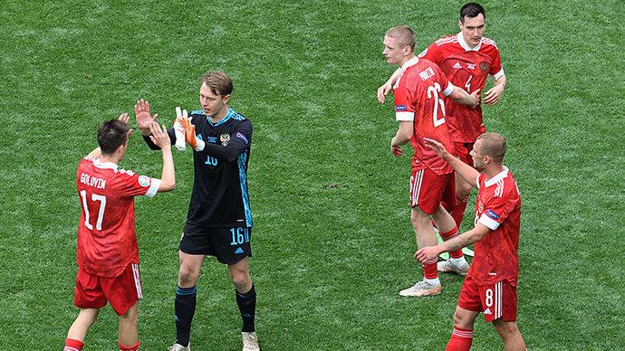 В сборной России ответили на резкие высказывания датчан перед матчем Евро-2020