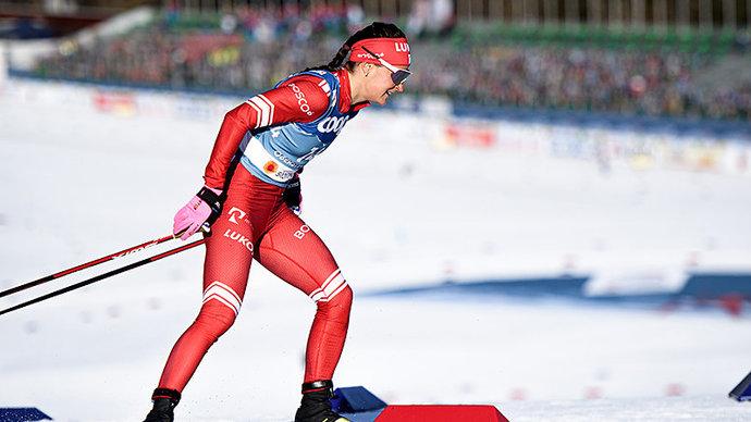 Юлия Ступак: «Бежала на лыжах Непряевой. Не знаю, почему мне дают не те лыжи»