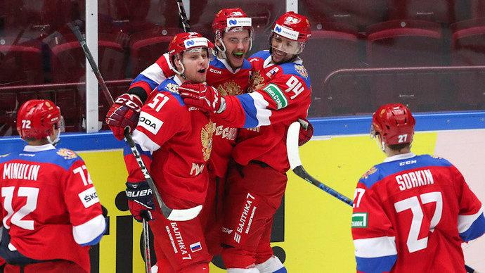 Сборная России выступит на ЧМ-2021 с гимном международной федерации под флагом ОКР