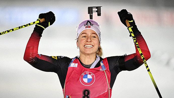 Норвежка Экхофф выиграла спринт на этапе КМ в Нове-Место, Кайшева — 13-я