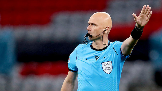 Карасев назначен на матч 1/8 финала Евро Нидерланды — Чехия