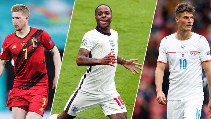 Де Брюйне, Стерлинг, Шик… Кто станет лучшим игроком Евро?