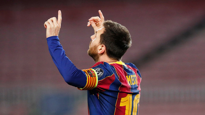 Месси занял второе место по количеству матчей за клуб в топ-5 чемпионатах за последние 10 лет