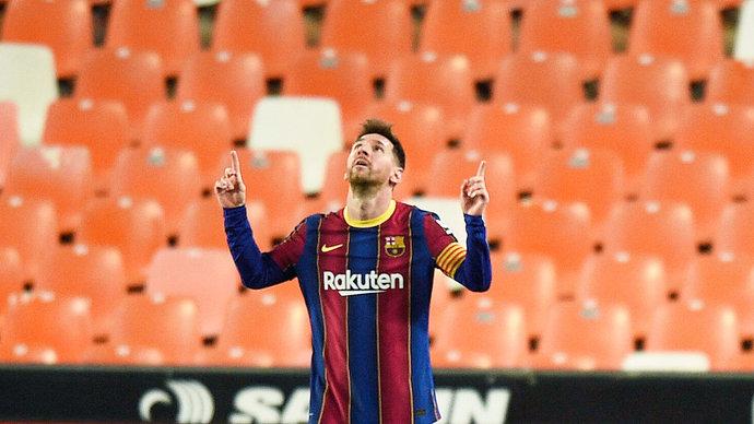 Месси начал переговоры о продлении контракта с «Барселоной»