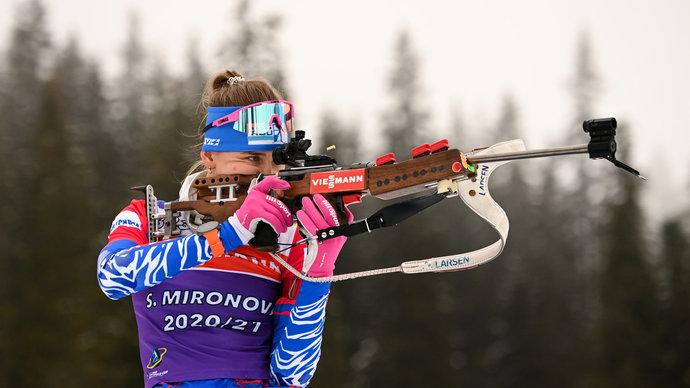 Стал известен состав женской сборной России на спринт в рамках ЧМ
