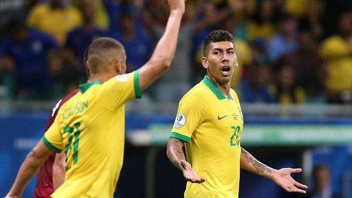 Сборная Бразилии без Неймара обыграла Венесуэлу и вернулась на первое место в квалификации на ЧМ-2022