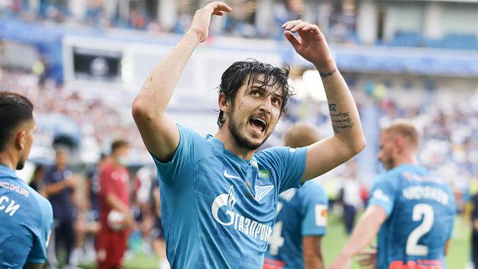 Азмун признан лучшим игроком матча за Суперкубок России-2021