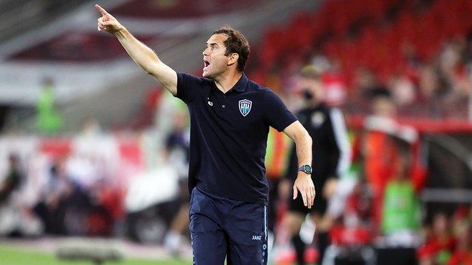 Александр Кержаков: «Моя вина, что первый тайм команда провела не очень хорошо. Тактически не разобрался в некоторых моментах»