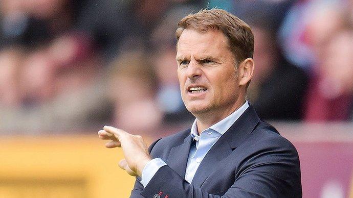 Официально: Франк де Бур уволен с поста главного тренера сборной Нидерландов