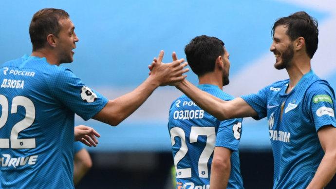 Лучшие атакующие трио Европы. Больше зенитовского забили только «Тоттенхэм», «Бавария» и «Ливерпуль»