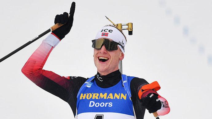 Йоханнес Бё – третий биатлонист в истории, одержавший 50 индивидуальных побед на Кубке мира