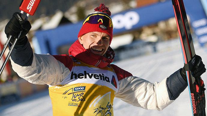 Большунов оценил свой результат в спринте и передал привет Клебо