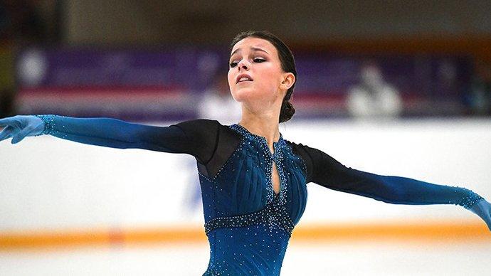Щербакова одержала победу на этапе Кубка России в Сочи, опередив Усачеву и Туктамышеву