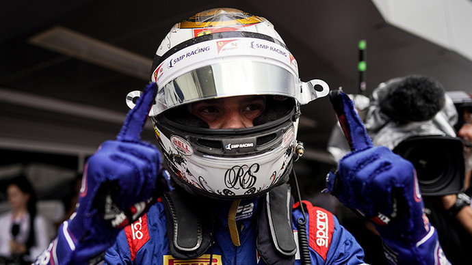 Шварцман выиграл гонку «Ф-2» в Бахрейне, Мазепин — 2-й