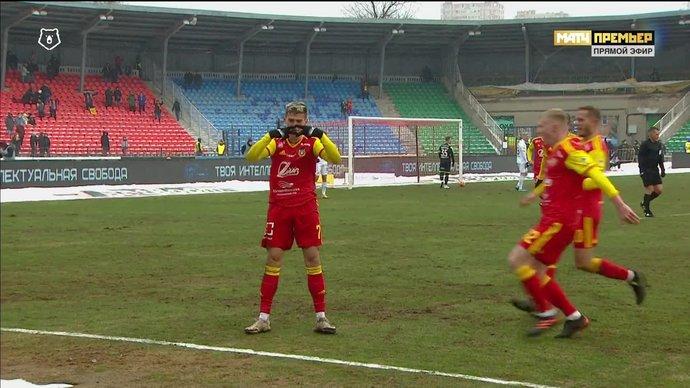 Ломовицкий показал «ромбик» после гола в ворота ЦСКА