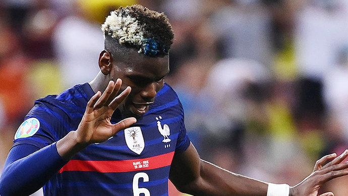 Блеснуть напоследок. В 1/8 финала Евро лучший гол забил француз Поль Погба!
