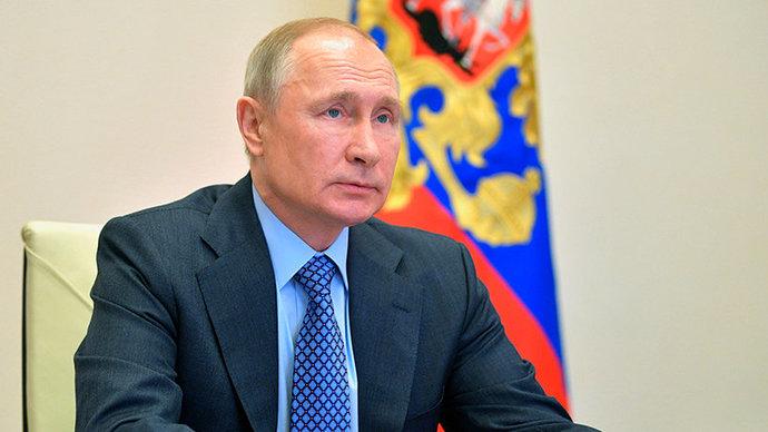 Путин поздравил коллектив «Матч ТВ» с пятилетием канала