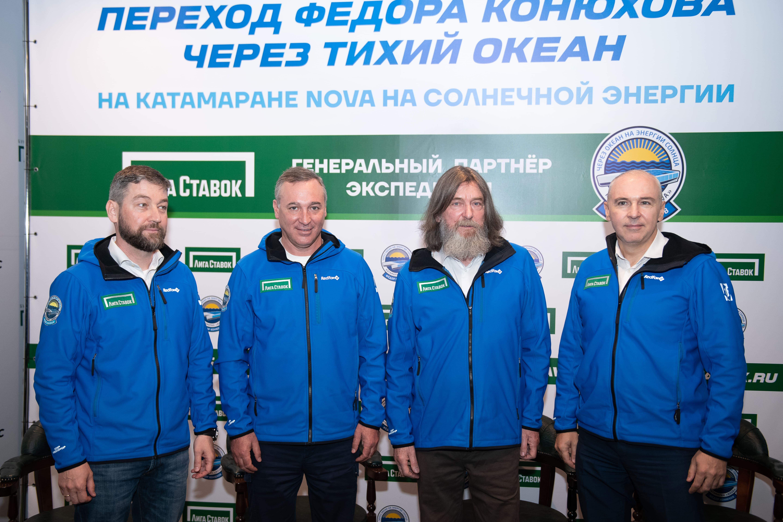 «Лига Ставок» и Фёдор Конюхов презентовали совместный проект