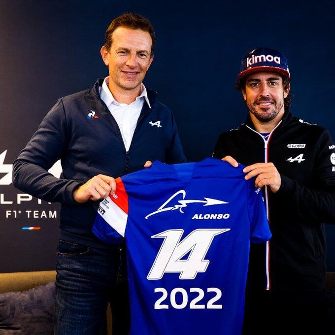 Алонсо продлил контракт с «Альпин» на 2022 год