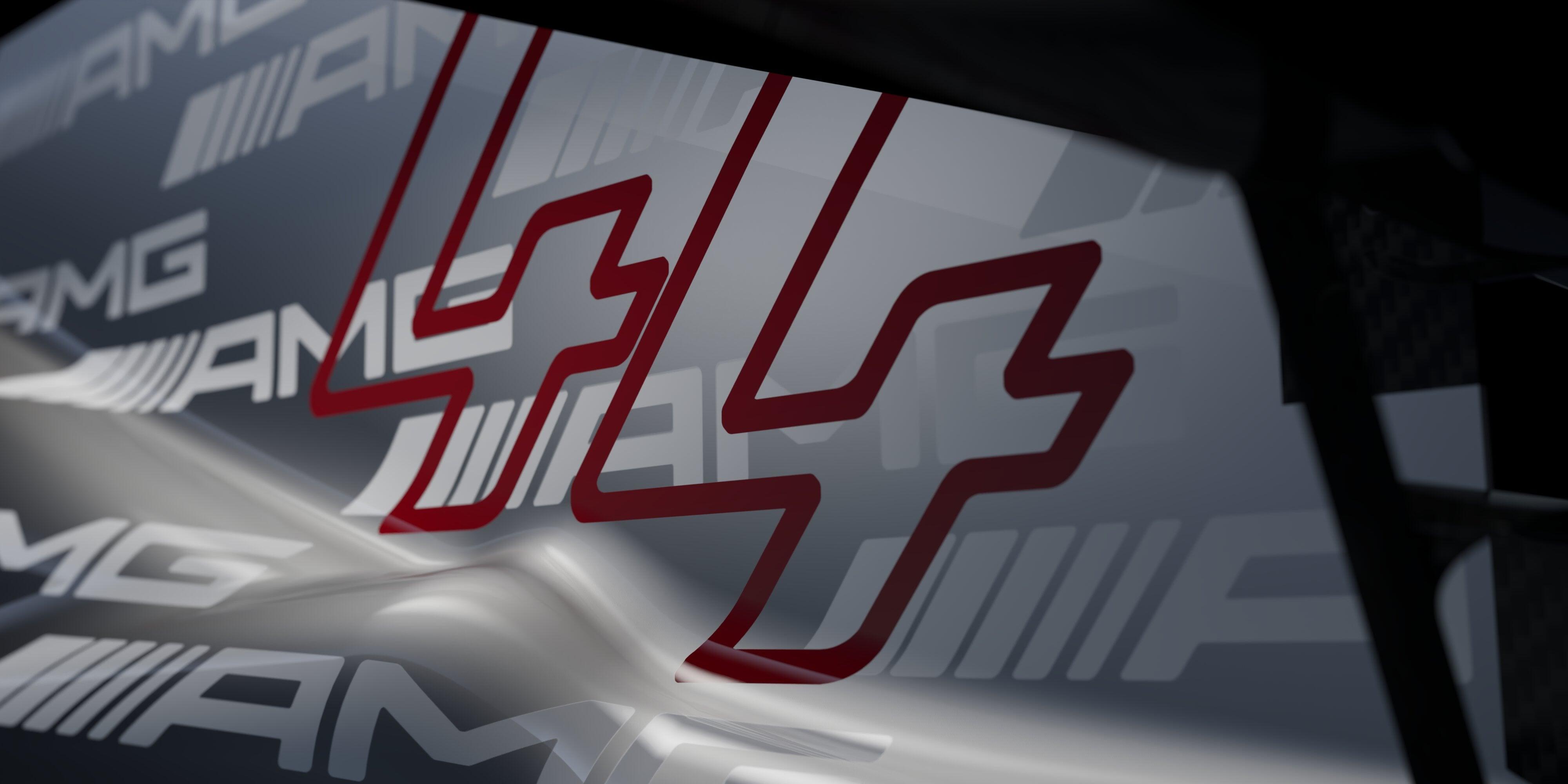 «Мерседес» показал часть ливреи в логотипах AMG