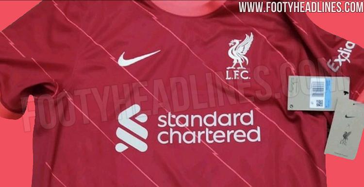 В интернете появились фото домашней формы «Ливерпуля» на следующий сезон