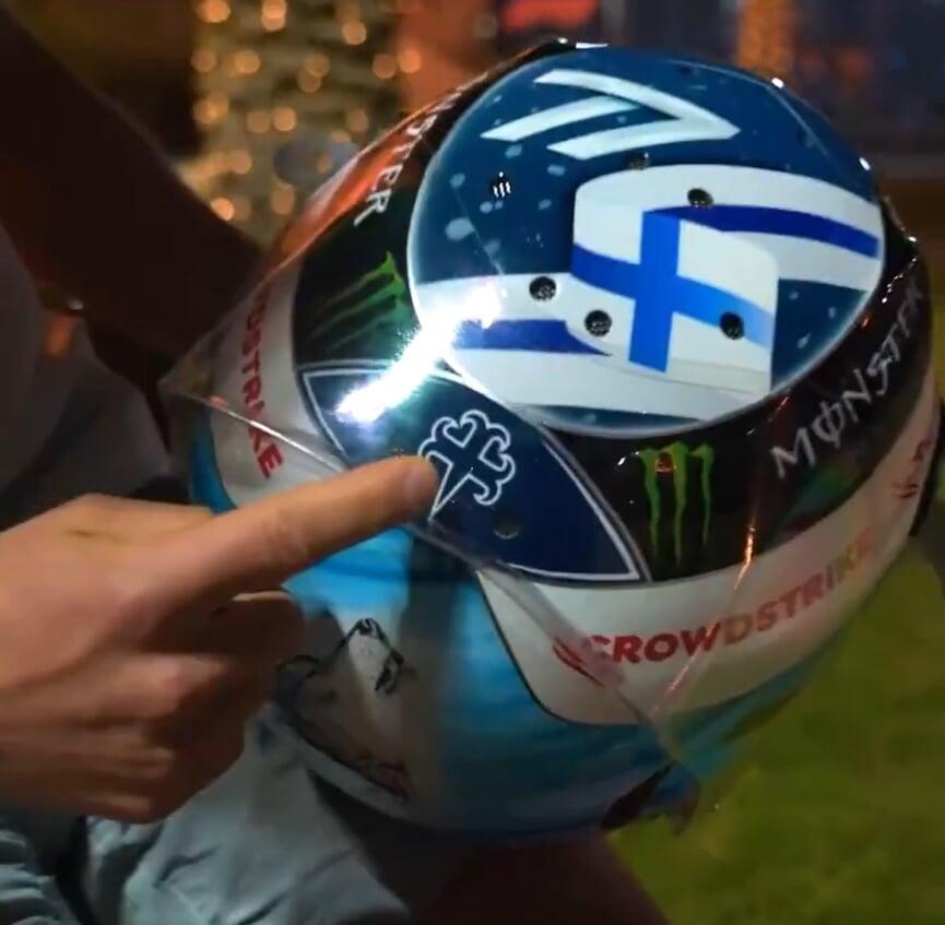 Боттас представил шлем с сибирским волком: «Он отражает настрой на сезон»