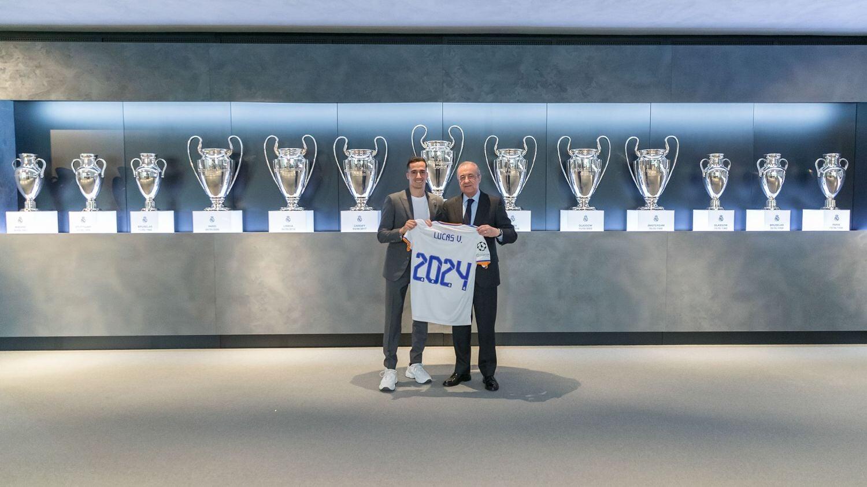 «Реал» продлил контракт с Васкесом до 2024 года