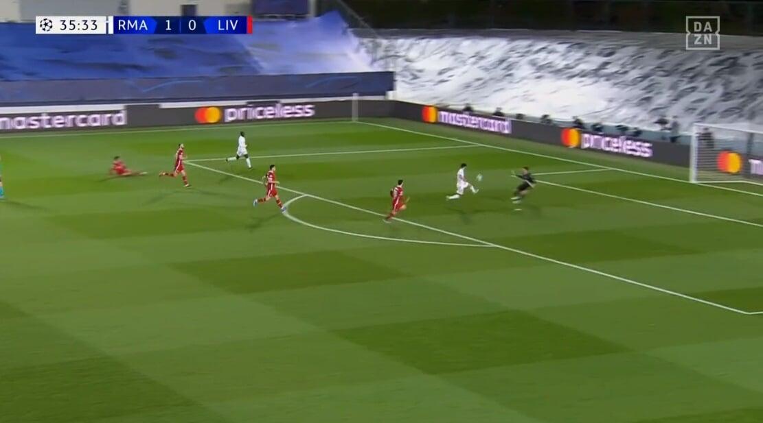 Трент скинул мяч Асенсио в свою штрафную, и испанец забил «Ливерпулю»