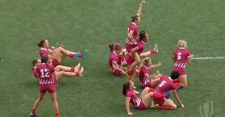 Женская сборная России по регби-7 победила в квалификации к Олимпиаде-2020 и впервые выступит на Играх