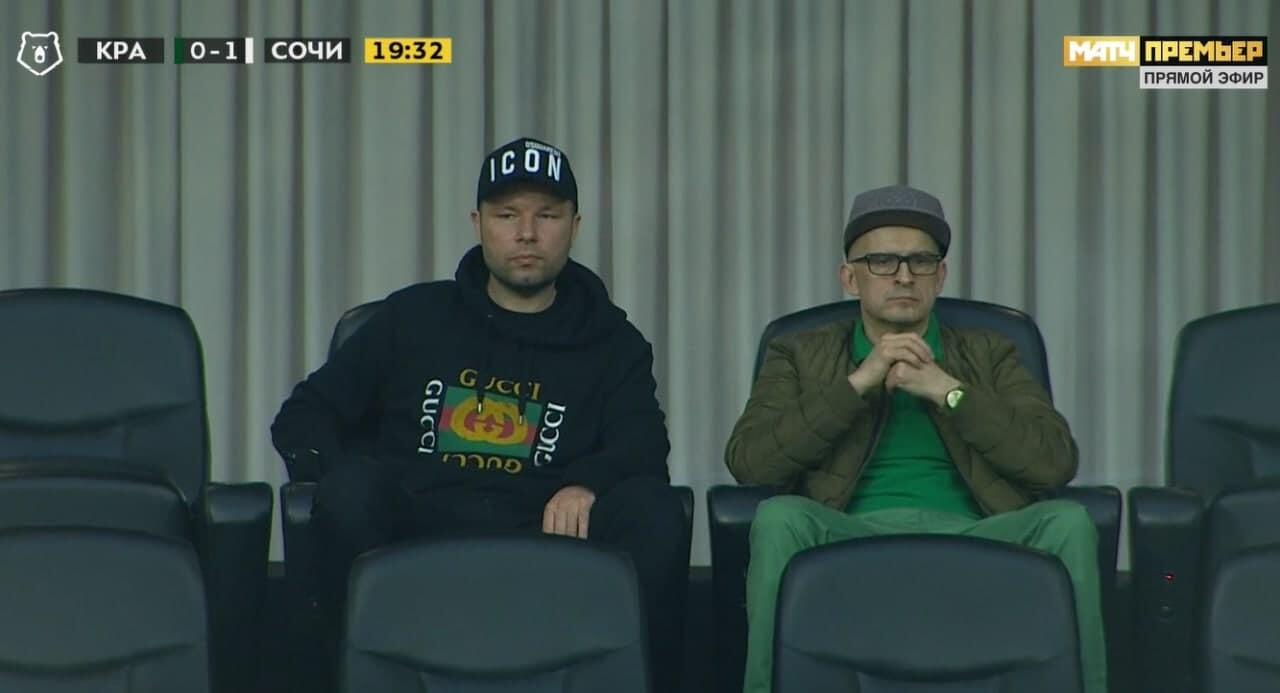 Мусаев посетил матч «Краснодара» с «Сочи»