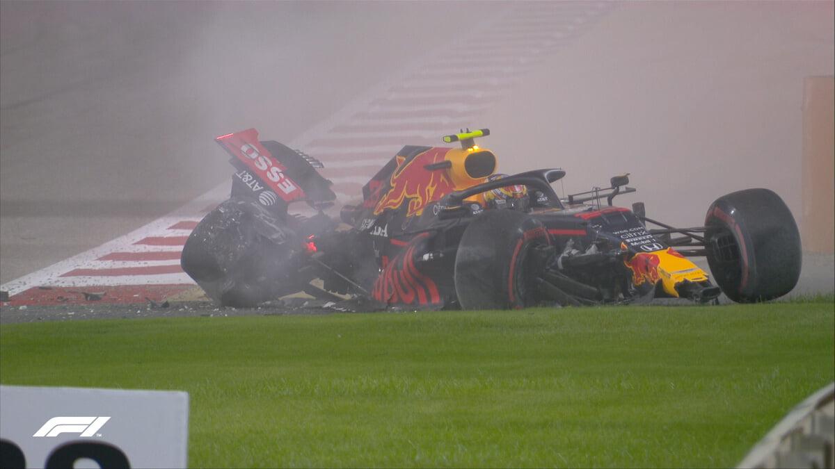 Албон разбил болид в практике перед Гран-при Бахрейна, сессия остановлена красными флагами