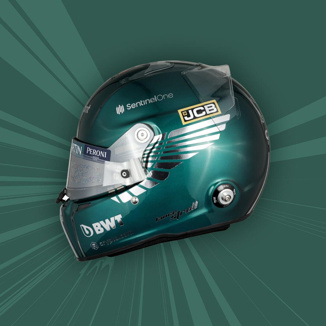 Стролл представил шлем на сезон-2021 с крыльями «Астон Мартин»