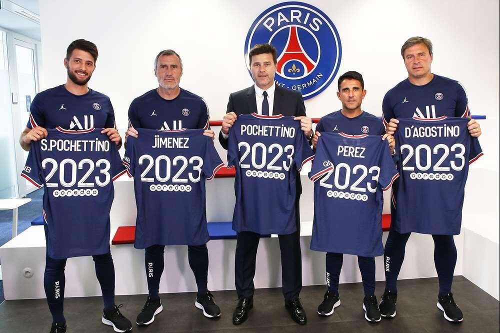 Почеттино продлил контракт с «ПСЖ» до 2023 года