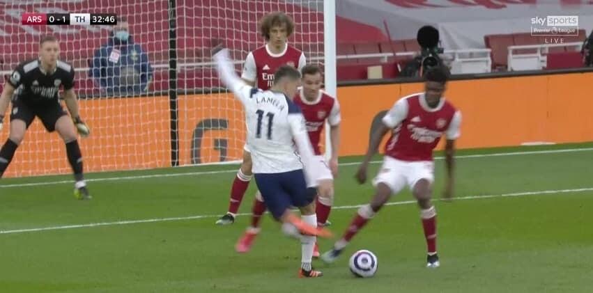 Ламела рабоной забил «Арсеналу». Это его первый гол в АПЛ за 1,5 года
