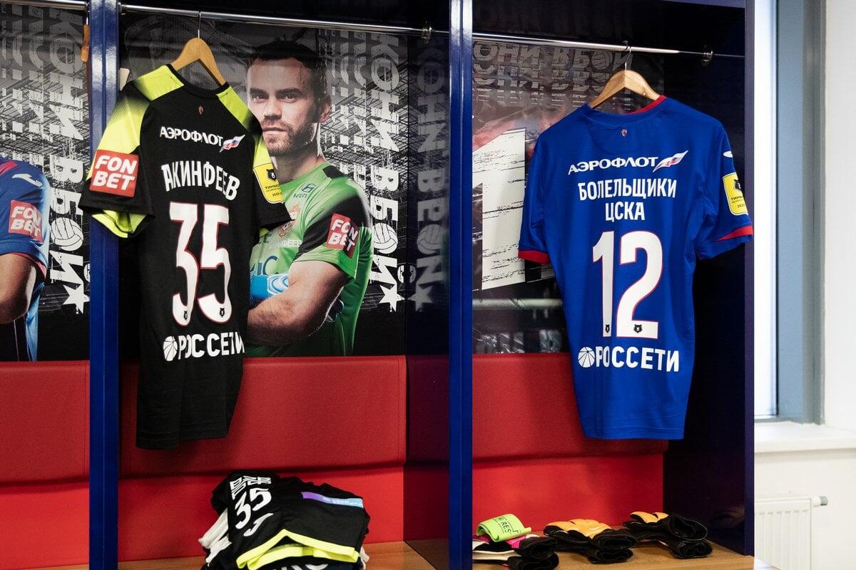 ЦСКА закрепил 12-й номер и место рядом с капитаном команды за болельщиками клуба