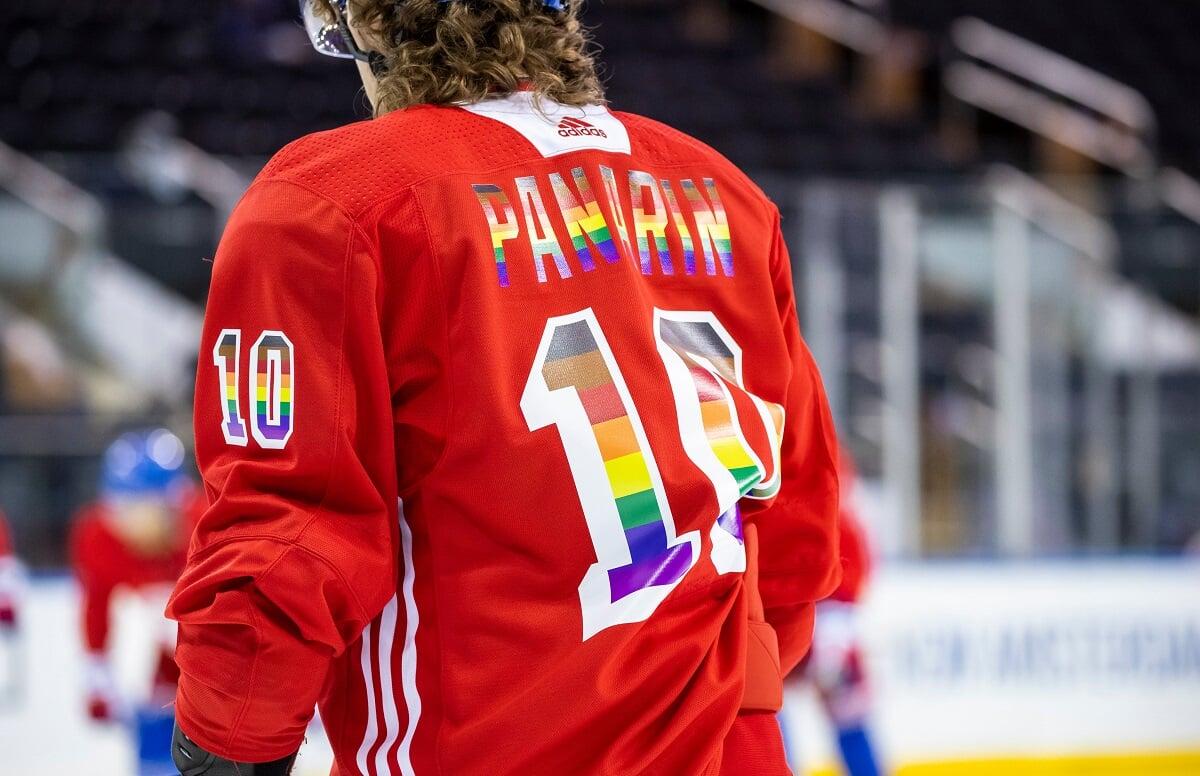 «Рейнджерс» объявили о начале ЛГБТ-месяца гордости твитом с фото Панарина